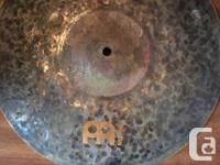 Brand new never played Meinl Hi Hats. I'm selling them