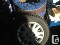 Winter Claw - Extreme Grip tires.  Tires used only