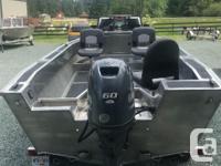 60 hp Yamaha New road Runner trailer 18gal fuel tank