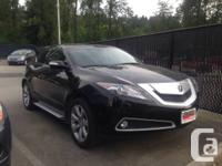 2010 ACURA ZDX Stock 8778Q Black Automatic Tech/Navi