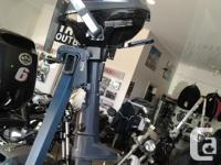 . It's the tiniest of Yamaha's 4-stroke portables,