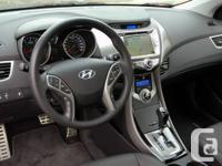 Brand-new 2013 Hyundai Elantra Coupes available for