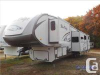 The Blue Ridge 3715BH fifth wheel by Forest River