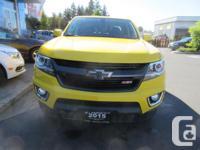 Make Chevrolet Model Colorado Year 2015 Colour yellow
