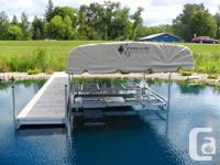 Seeking a brand-new dock right here is a 30' Alum Turn