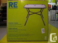 """I have A Brand New """"RE Dining Table"""" Made Of Durable"""