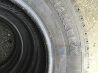 New Hankook Dynapro AT P235/75R17 M/S tires that market