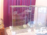 New 38 Gallon Tall Terrarium with Sliding Doors 21""