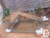 """New 50 Gallon Turtle Tank 36"""" long by 20"""" wide and 16"""""""