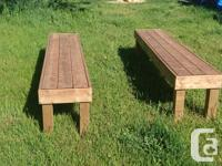 Outdoor furniture no assembly required! Made from