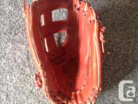 Adult sized... BASEBALL GLOVE by COOPER.. Good QUALITY