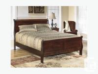 Brand New Alisdair Sleigh Bed on Sale for 249 Dark