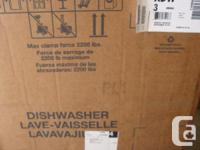 Amana(made by Whirlpool) energy star new dishwasher #