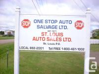 We offer sell used and also new aftermarket parts for