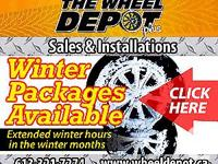"""NEW PACKAGES: 15"""" RIM AND TIRE PACKAGES WILL START AT"""