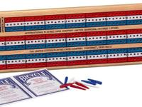 Product Description Solid wood board with Red, White, &