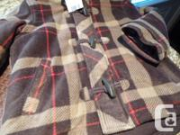SIZE 3 Toddler NEW from Walmart Brown plaid with 3
