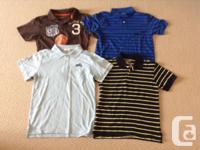 New boys polo collared shirts - dimension 8. I am