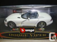1992 Dodge Viper RT/10 Made by burago 1/24 scale die