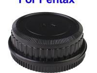 Camera Body Cover & Rear Lens Cap combo for Pentax