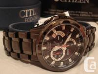 For sale is one BRAND NEW in-box Citizen Eco-Drive