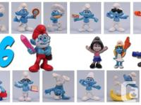 NEW SEALED MCDONALD'S SMURFS 2 MOVIE AMOUNTS 2013!  $2