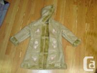 I have a Brand New Coat Winter Beige Suede Embroidered