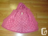 I have a New Coat Winter Joe Fresh Pink Wool Size 4