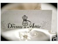 The Dressy Attic is a Consignment Dress Shop. We have