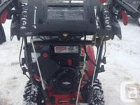 """305cc 27"""" hardly used. Has electric start, trigger"""