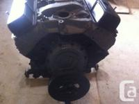 PRICED TO SELL.  This motor is a stock 4 BOLT MAIN