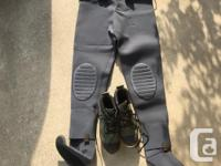 New Crystal River Felt Soled Wading Boots Size 9 $40