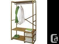 Deluxe Solid Wood stand Alone Closet Made of wood and