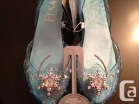 Elsa costume dress up light-up shoes   Size 2/3 (for
