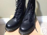 """I have a brand new pair of Dr. Martens 1490 """"10-Eye"""""""