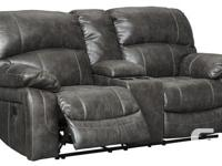 Brand New Dunwell Steel Power Reclining Sofa Collection