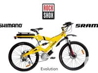 NEW EVOLUTION CENTRAL DRIVE ELECTRIC BIKES (UP TO