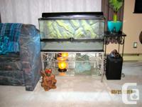 $480 value for $140!!! New Exo Terra Reptile Terrarium
