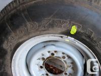 BRAND NEW, NEVER USED Goodyear Wrangler HT LT235/65 R17