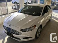 Make Ford Model Fusion Year 2017 Colour White kms 30
