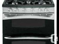 New GE Profile 30'' Freestanding Gas Range,Double Oven