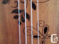"""23"""" Electric, Concert Ukulele By GECKO Beautiful and for sale  British Columbia"""