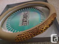 For sale New Genuine Crocodile Skin Steering Wheel