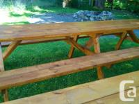 6, 8, 10+ foot tables. We can deliver. High quality