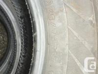 New Hankook Dynapro AT P235/75R17 M/S tires that sell