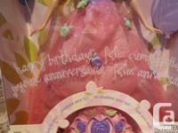 NEW Happy Birthday BARBIE (Mattel) w/ Tiara for you