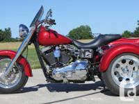 NEW Trike Conversion Kit for Harley Davidson Dyna 1990