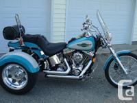 NEW Trike Conversion Kit for Harley Davidson Softail