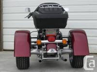 Trike Conversion for Harley Davidson Tour Models FLT,