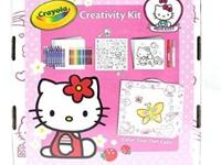 I have a New Hello Kitty Ultimate Art Kit Jr by Crayola